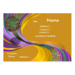 B-Card Mardi Gras-Gold-V1 Large Business Cards (Pack Of 100)