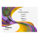 B-Card Mardi Gras-White-V1 Large Business Cards (Pack Of 100)