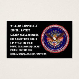 B-card-mine-2, William Campitelle Business Card