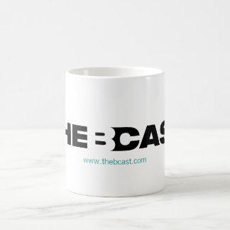 B-Cast Logo Mug with Teal URL