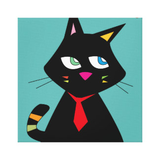 B-CAT CANVAS PRINT