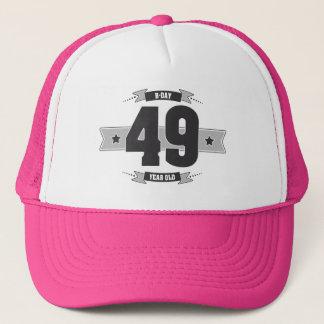 B-day 49 (Dark&Lightgrey) Trucker Hat