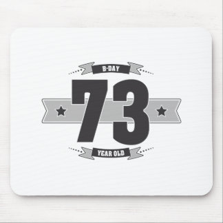 B-day 73 (Dark&Lightgrey) Mouse Pad