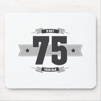 B-day 75 (Dark&Lightgrey) Mouse Pad