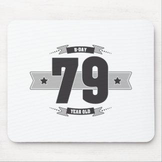 B-day 79 (Dark&Lightgrey) Mouse Pad
