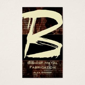 B Flame Monogram Business Card