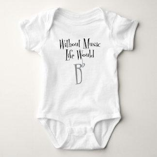B Flat Baby Bodysuit