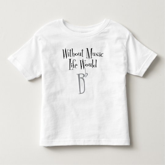B Flat Toddler Jersey T-Shirt
