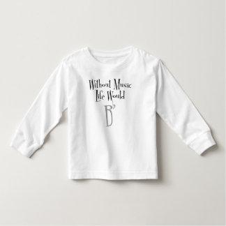 B Flat Toddler Long Sleeve T-Shirt
