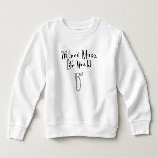 B Flat Toddler Sweatshirt