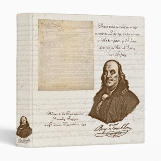 B. Franklin: Liberty & Safety - Binder