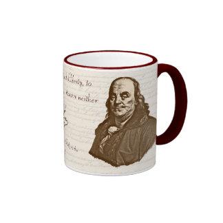 B. Franklin: Liberty & Safety - Mug #2