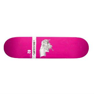 B-G_Deck_Magenta2 Skate Board