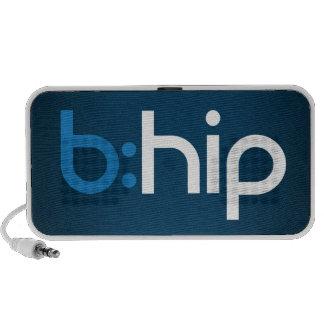 b : haut-parleur de hanche pour le téléphone, le m