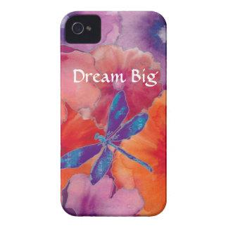 B iPhone 4 Case Dream Big Dragonfly