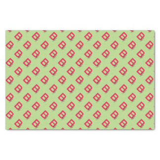 B is for Bacon happy jumping strip abc letter Tissue Paper