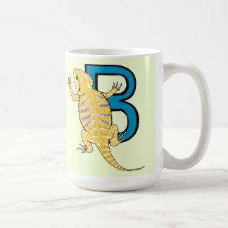 B is for Bearded Dragon Coffee Mug