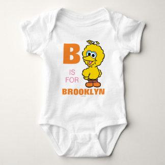 B is for Big Bird Baby Bodysuit