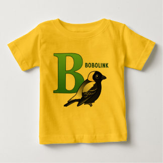B is for Bobolink Baby T-Shirt