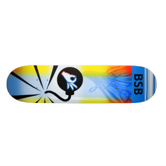 B is for Bombs Skate Deck