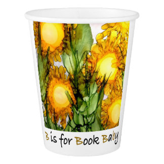 B is for Book Baby—Party Cups