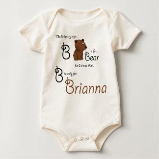 B is for Brianna, Baby Bear Tee