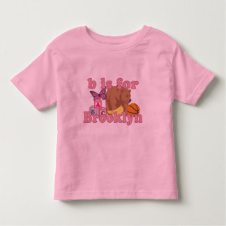 B is for Brooklyn Toddler T-shirt