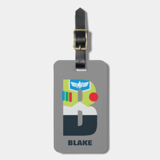 B is for Buzz | Add Your Name Luggage Tag