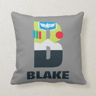 B is for Buzz | Add Your Name Throw Pillow
