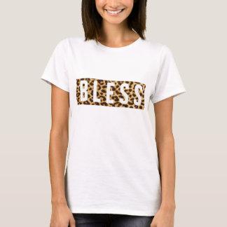 B L E S S leopard print T-Shirt