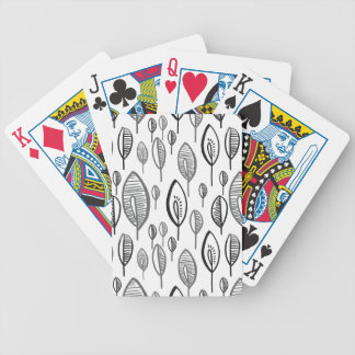 B LEAF BICYCLE PLAYING CARDS