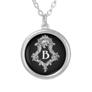 B Monogram Initial Custom Jewelry