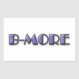 B-MORE Logo Sticker