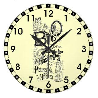 B&O Railroad-The Model Fast Line 1869 Wall Clock