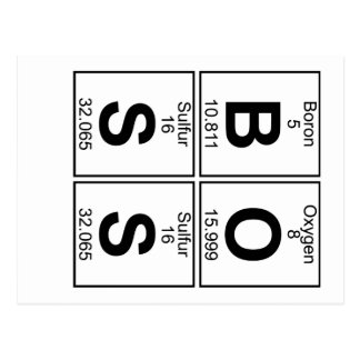 B-O-S-S (boss) - Full Postcard