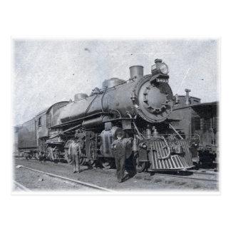 B & O Steam Locomotive 4013 Postcard