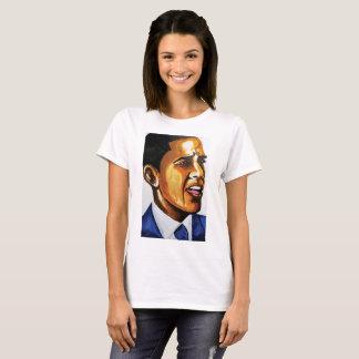 B OBAMA by Jesse Raudales T-Shirt