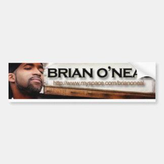 B. O'Neal Bumper Sticker