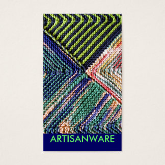 b/pc Artisanware Knit Business/Profile Card