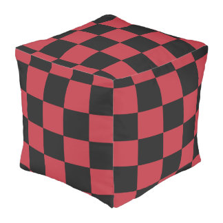 B+R Checker Cube Bean Bags Pouf