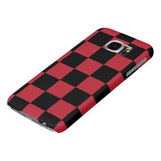 B+R Checker Galaxy S6 Cases