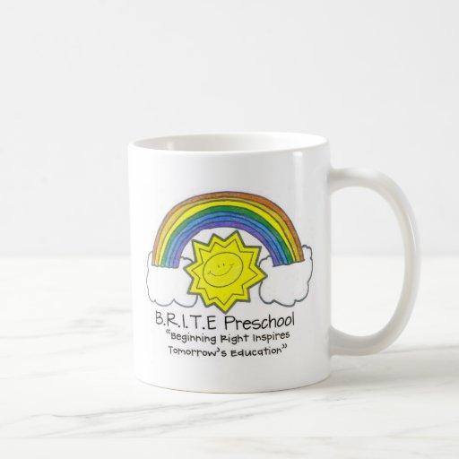 B.R.I.T.E. Preschool Coffee Mug