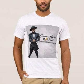 "B.Slade ""Conversation"" T-Shirt"