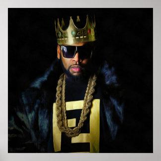 "B.Slade™ - ""King Slade"" Portrait Poster"