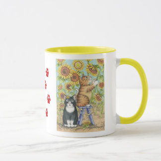 B & T #46 Sunflower Mug