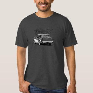 B&W 1957 Buick Estate Wagon Tshirt