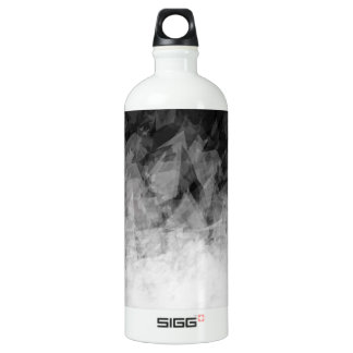 B&W Abstract Facets - SIGG Water Bottle