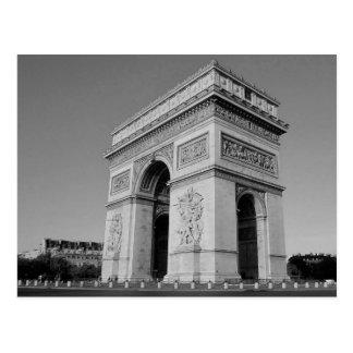 B&W Arc de Triomphe 3 Postcard