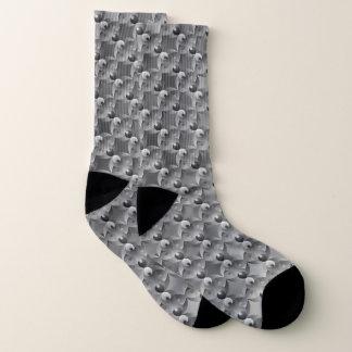 B&W Balance by Kenneth Yoncich Socks