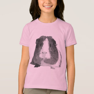 B&W 'Betty' Guinea Pig Children's T-Shirt